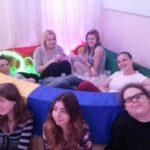 Divadelní skupinka v integračním centru Zahrada na Žižkově