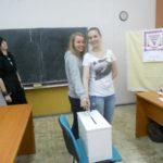 Studentské prezidentské volby 2012