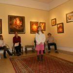 Předvánoční setkání v galerii Evy Jandouskové
