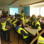 Praha - setkání se studenty v rámci projektu Comenius - prosinec 2013