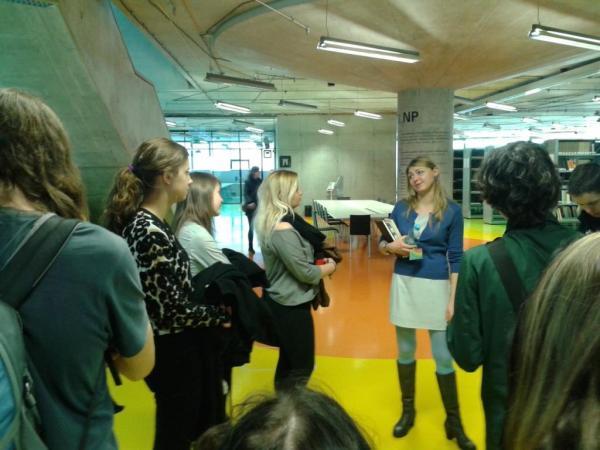 Odborná exkurze do Národní technické knihovny