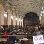 Odborná exkurze do knihovny Národního muzea
