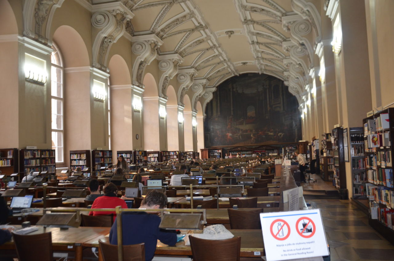 Odborná exkurze do Národní knihovny