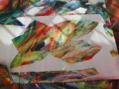 Návštěva výstavy Katariny Grosse a Marii Lassnig