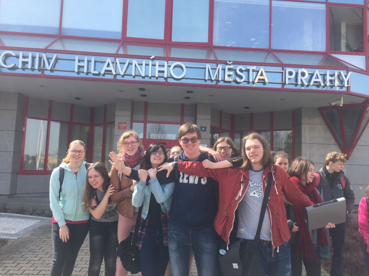 Exkurze do Archivu hl. m. Prahy