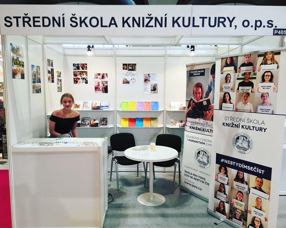 SŠKK na veletrhu Svět knihy Praha 2019