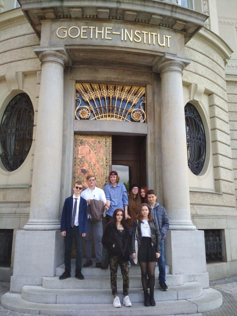 Exkurze do Goethe institutu (K1)